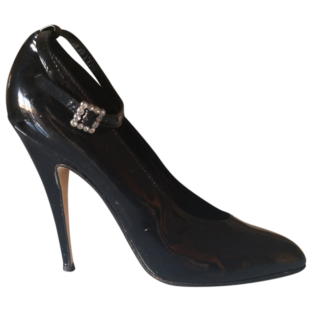 Blumarine \N Black Patent leather Heels for Women 40 EU