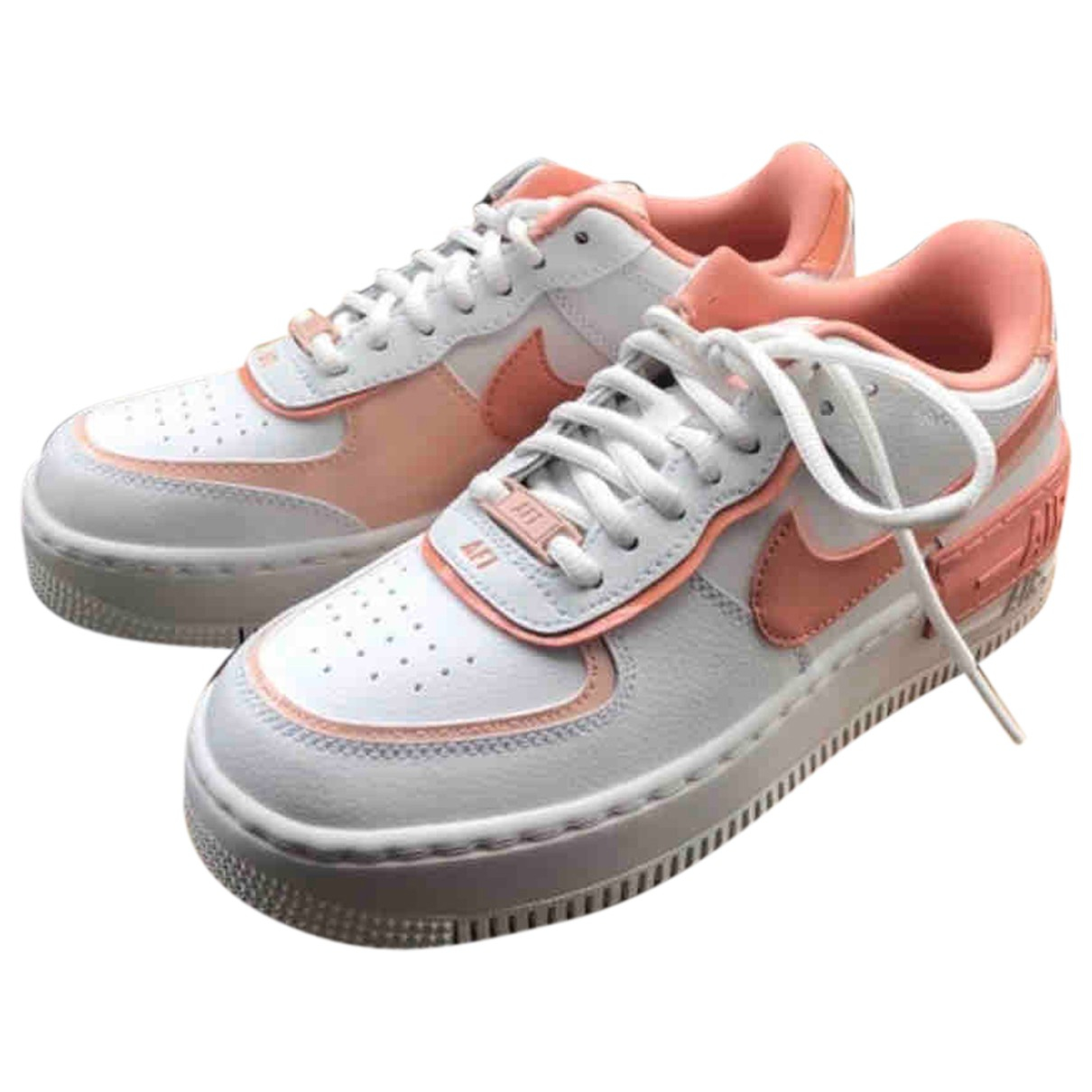 Nike Air Force 1 Pink Rubber Trainers for Women 37.5 EU