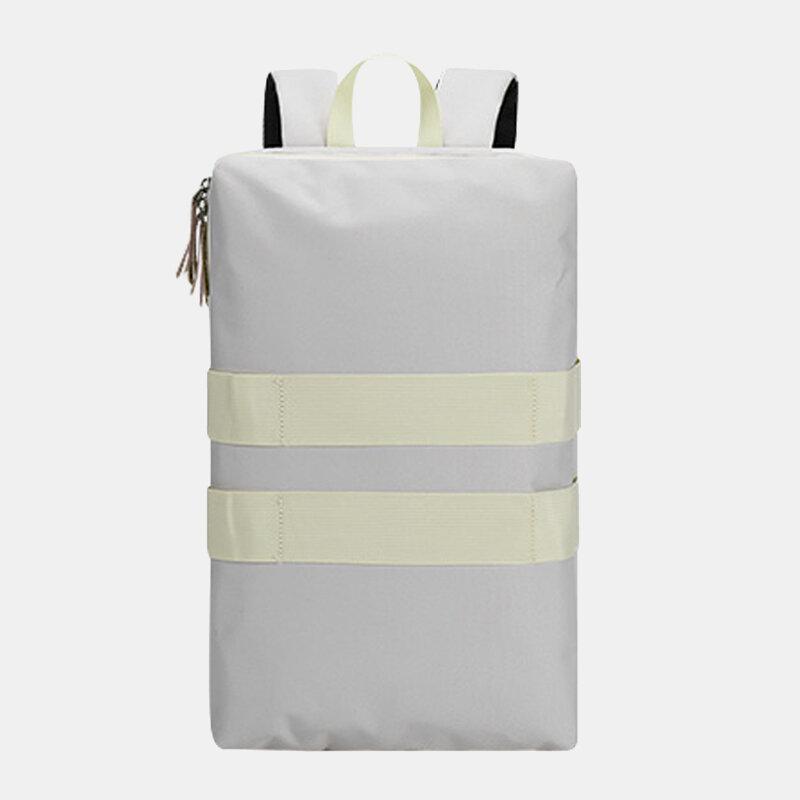 Men Polyester Multifunction Lightweight Large Capacity Sport Hiking Travel Laptop Backpack