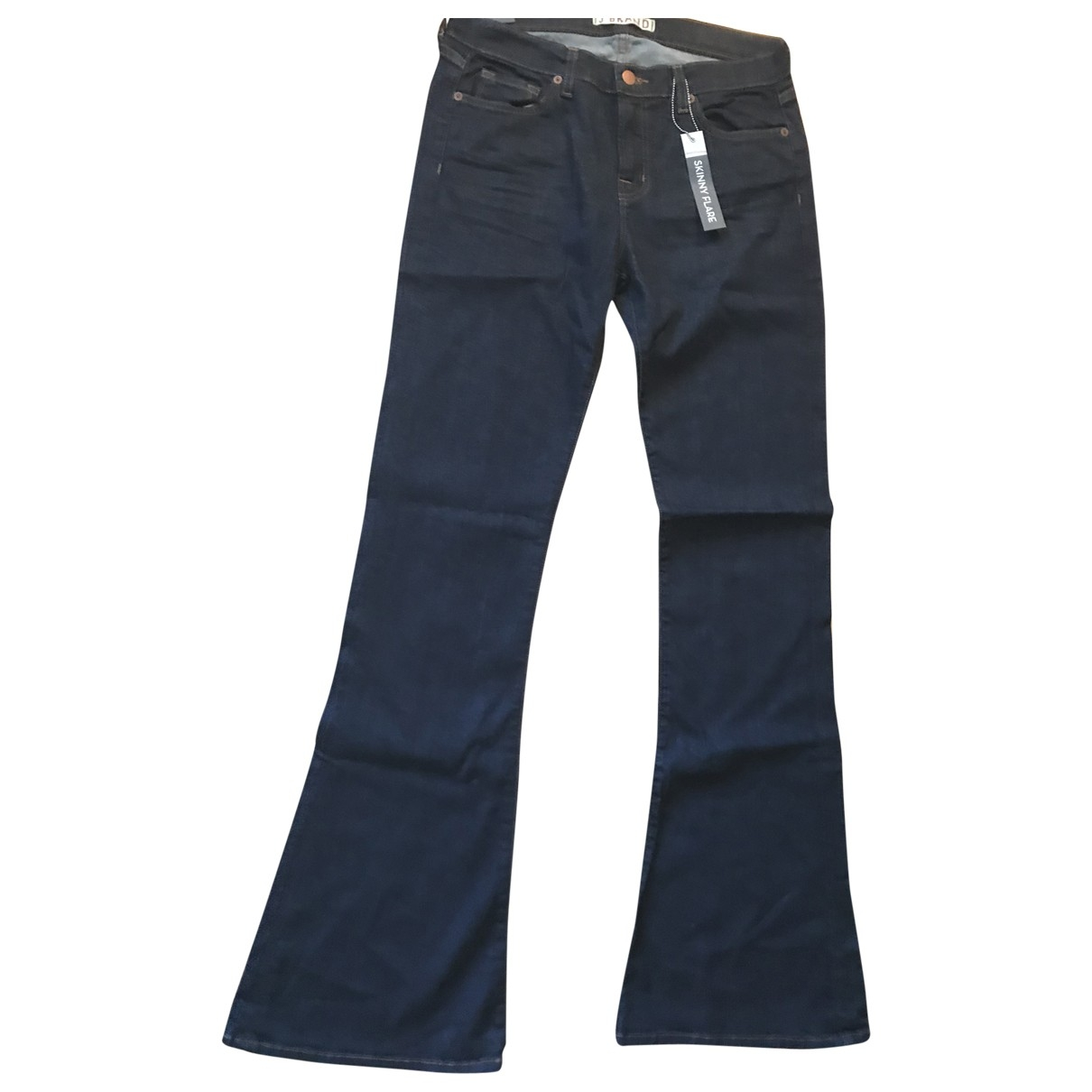 J Brand \N Blue Cotton - elasthane Jeans for Women 30 US