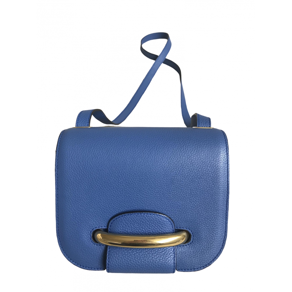 Mulberry \N Blue Leather handbag for Women \N