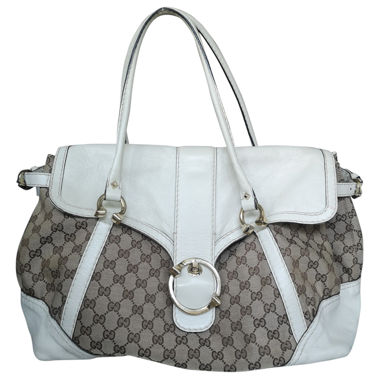 Gucci \N White Cloth handbag for Women \N