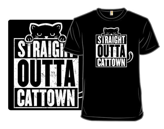 Catz Wit Attitudes T Shirt