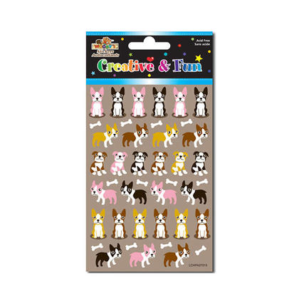 Doggies Self-Adhesive Felt Stickers for Arts & Crafts, 4