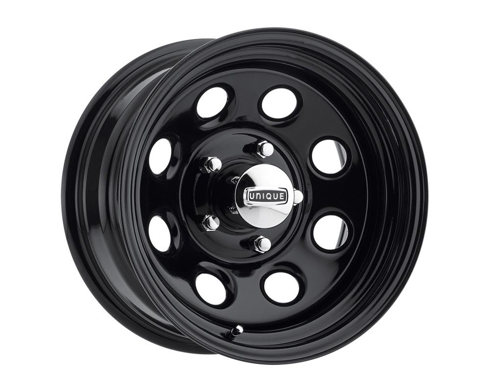 Unique Wheels 1629580014B 297 High Gloss Black Paint Wheel 16x7 5x139.7 0