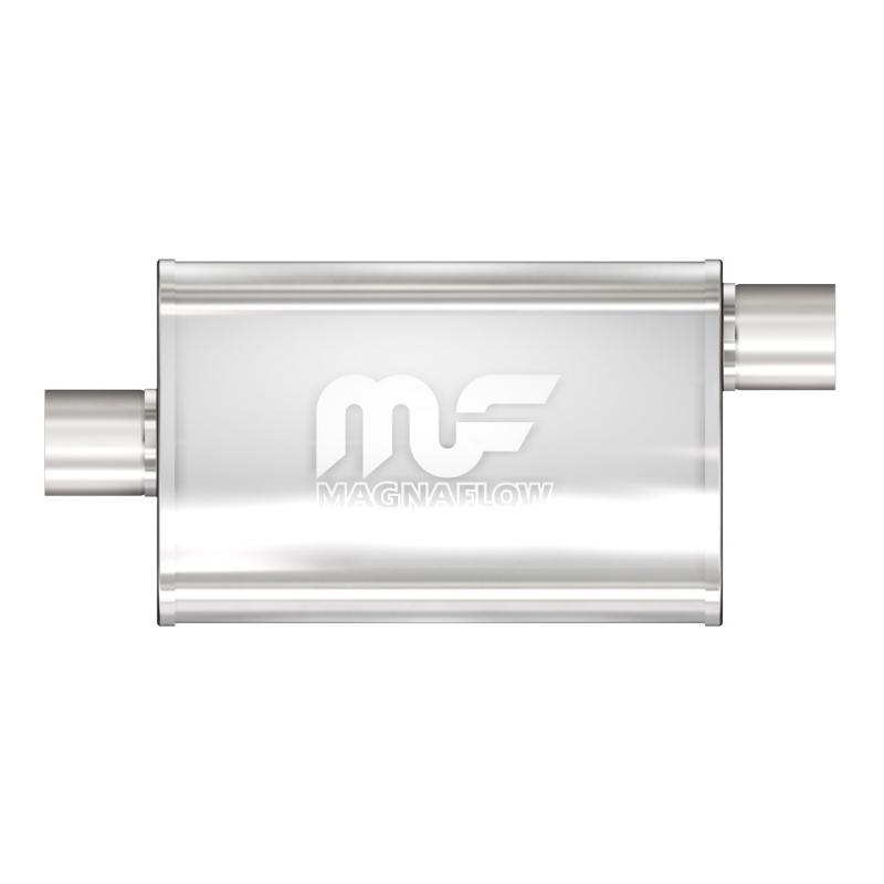 MagnaFlow 11366 Exhaust Products Universal Performance Muffler - 2.5/2.5