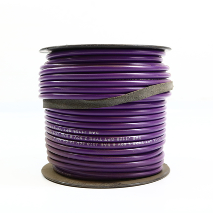 Power Products EL612190 - Gpt Primary Wire   Purple, 12 Ga, 100' Roll