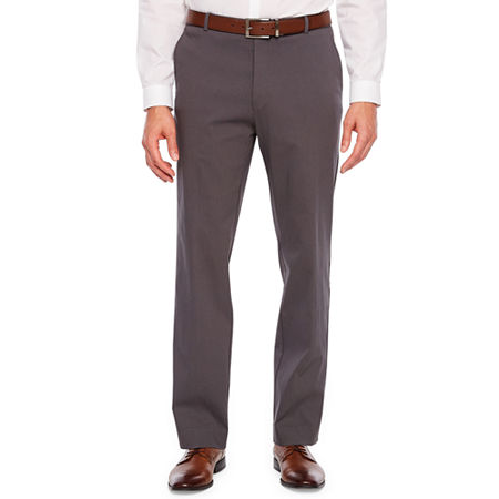 Collection by Michael Strahan Performance Slim Fit Stretch Dress Pants, 36 30, Gray
