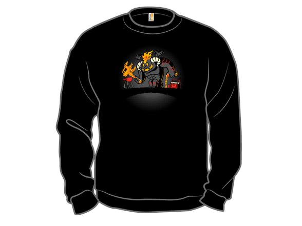 You Shall Not Overcook! Crewneck Sweatshirt
