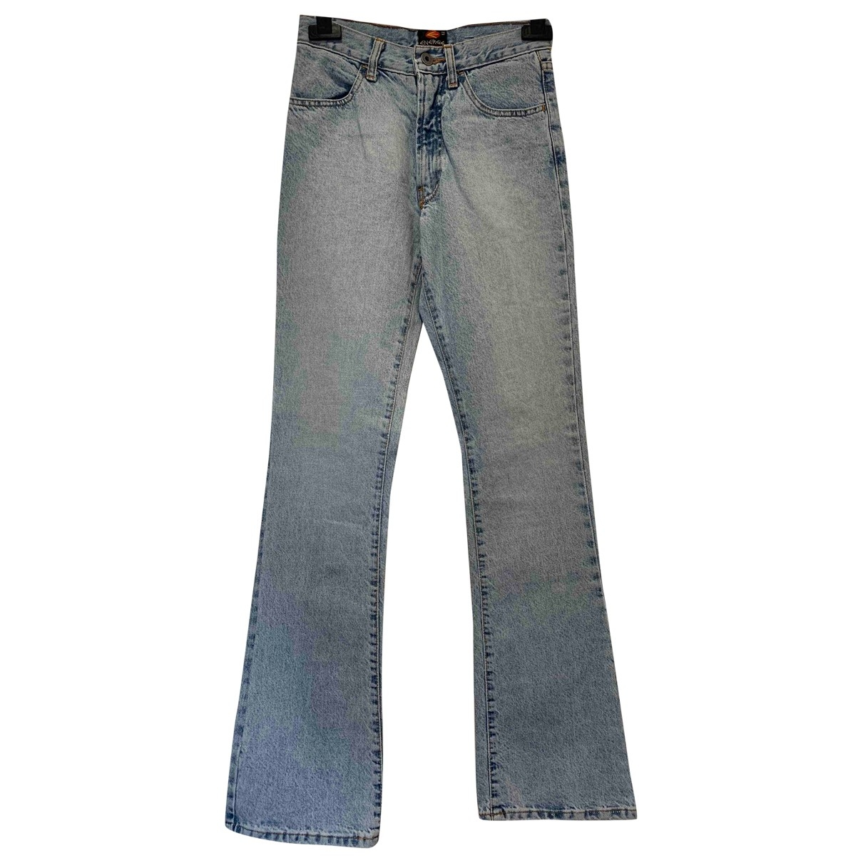 Non Signé / Unsigned \N Blue Cotton Jeans for Women 27 US