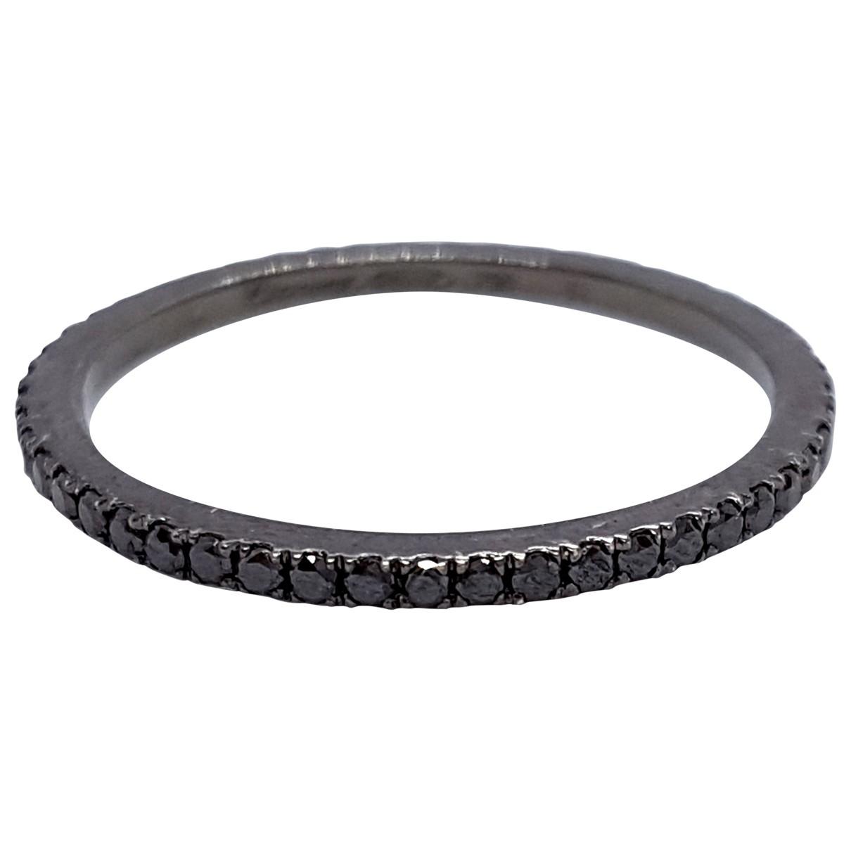 Eternam?? \N Black ring for Women 51 MM