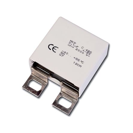 KEMET 1.5μF Polypropylene Capacitor PP 550 V ac, 850 V dc ±5% Tolerance Panel Mount C4BS Series (36)