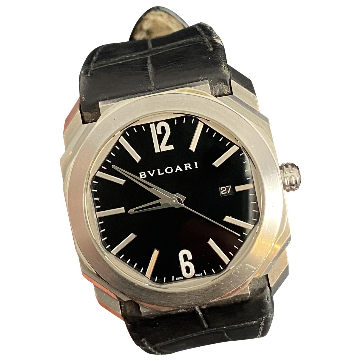 Bvlgari Octo Silver Steel watch for Men \N