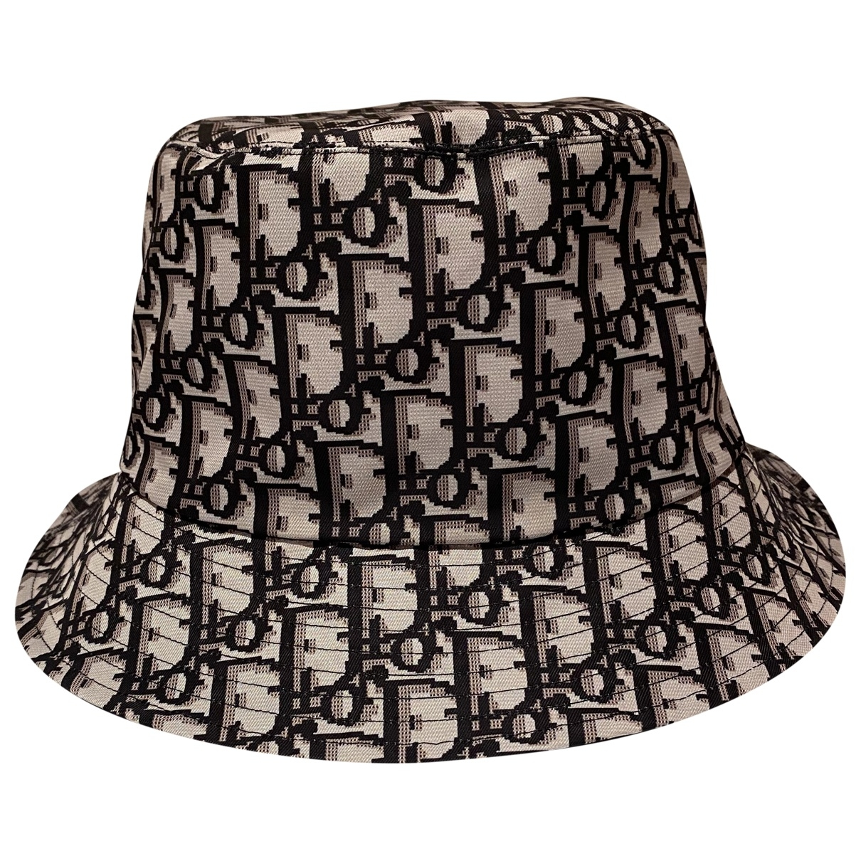 Christian Dior \N Black Cotton hat for Women 57 cm