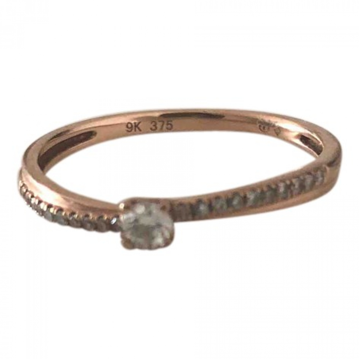 Non Signé / Unsigned \N Pink gold ring for Women 56 MM