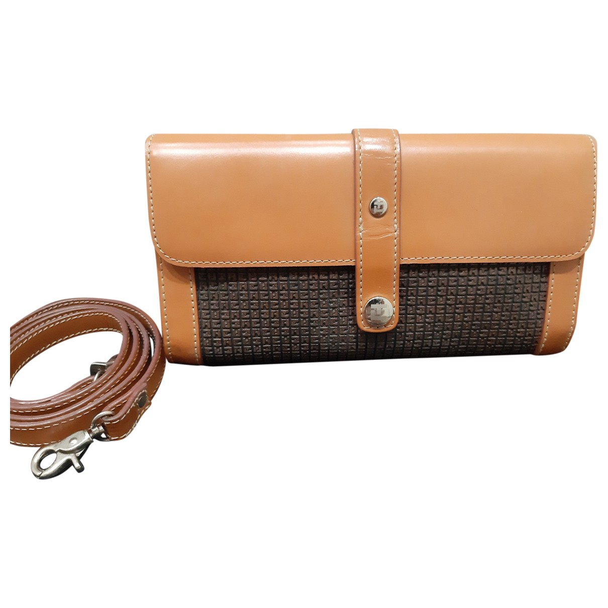 Ted Lapidus \N Brown Leather Clutch bag for Women \N