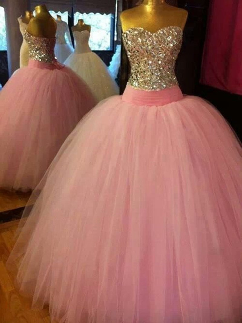 Ericdress Fashion Charming Beading A-Line Floor Length Evening Dress