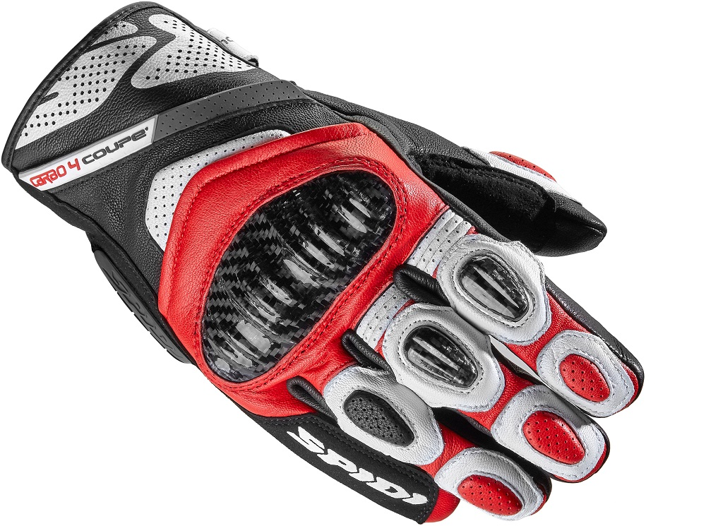 Spidi Carbo 4 Coupe Guantes Rojos XL
