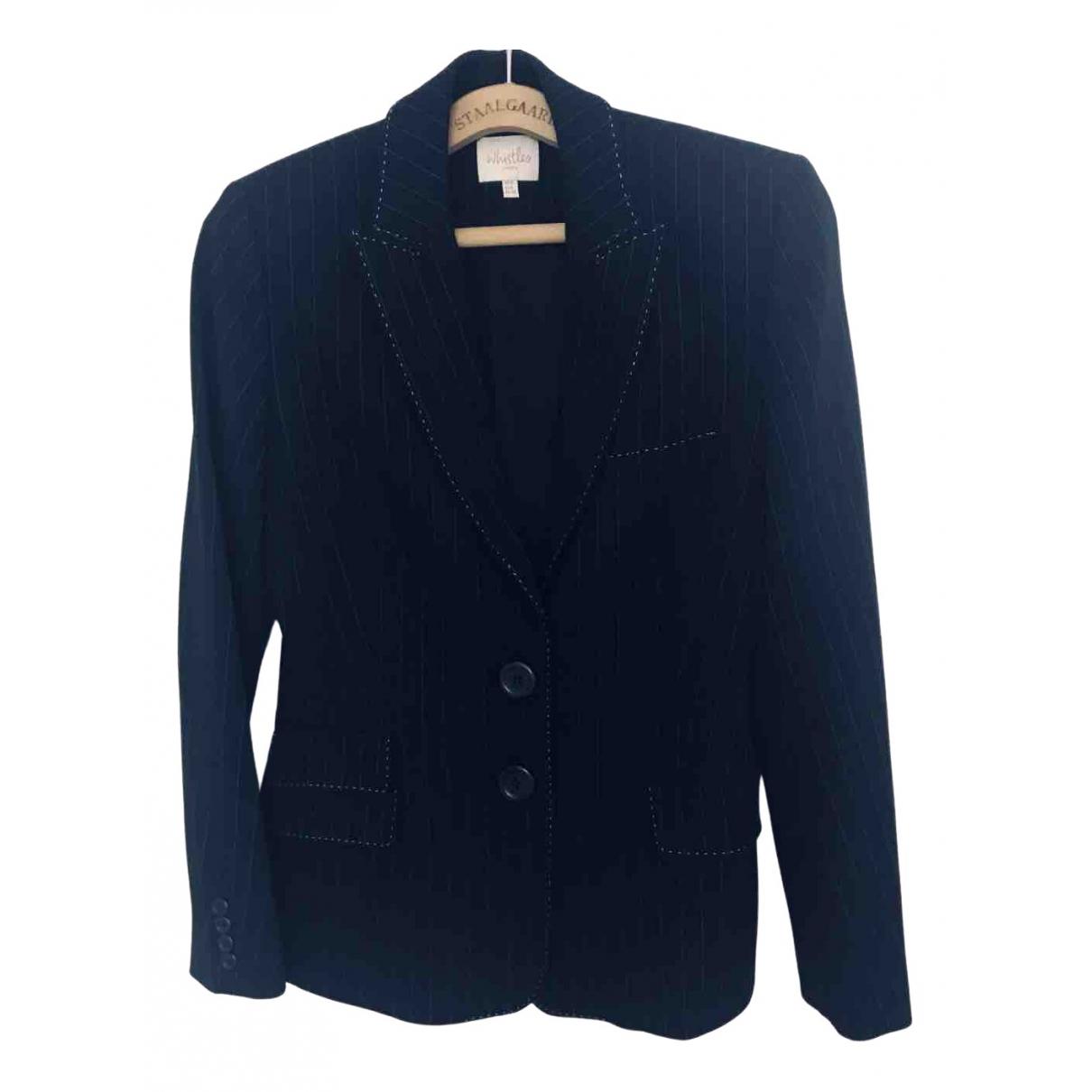 Whistles \N Black coat for Women 10 UK