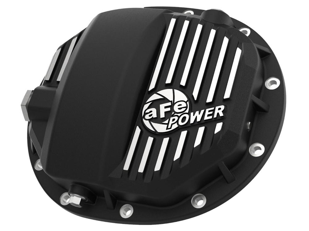 aFe Pro Series AAM 9.5/9.76 Rear Differential Cover Black w/ Machined Fins GM Silverado|Sierra 1500 L4-2.7L/V6-4.3L/V8-5.3L/6.2L 14-19