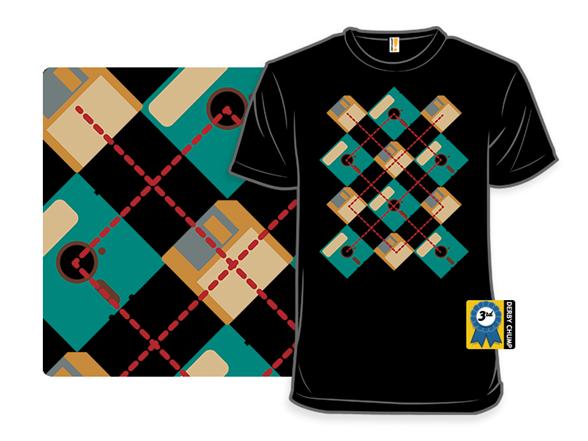 Floppy Argyle T Shirt