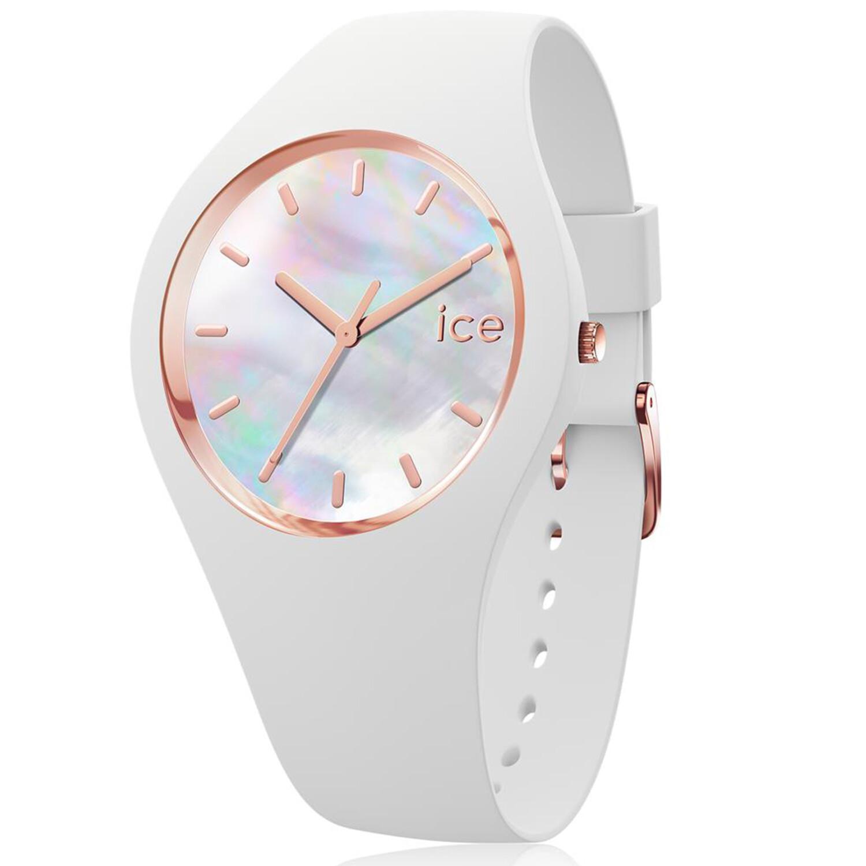 Ice-Watch Women's Pearl 016936 White Silicone Quartz Fashion Watch