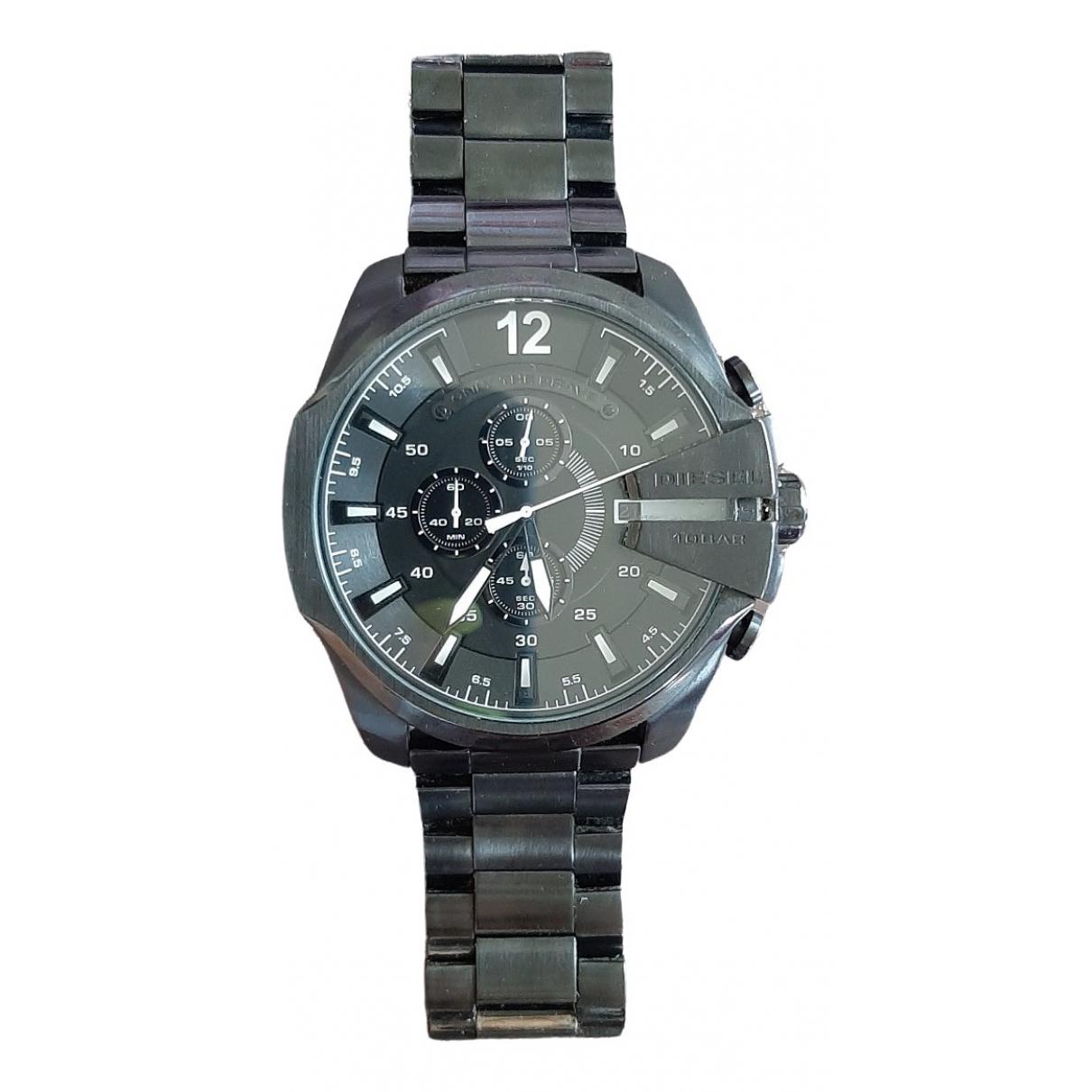 Diesel \N Black Steel watch for Men \N
