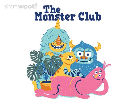 The Monster Club T Shirt