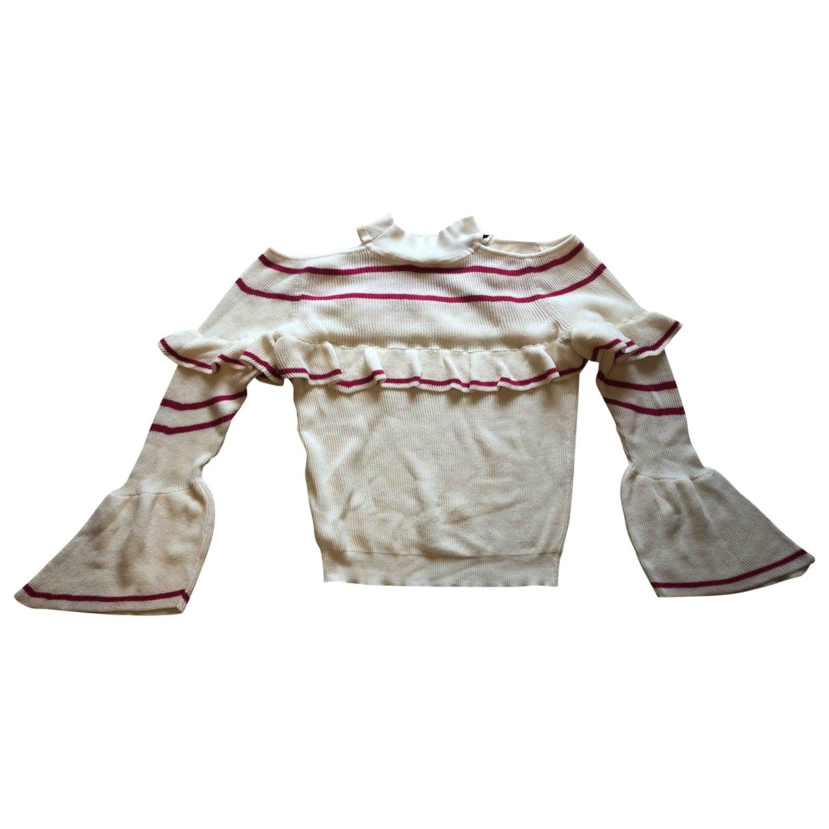 Vicolo \N White Cotton Knitwear for Women One Size IT