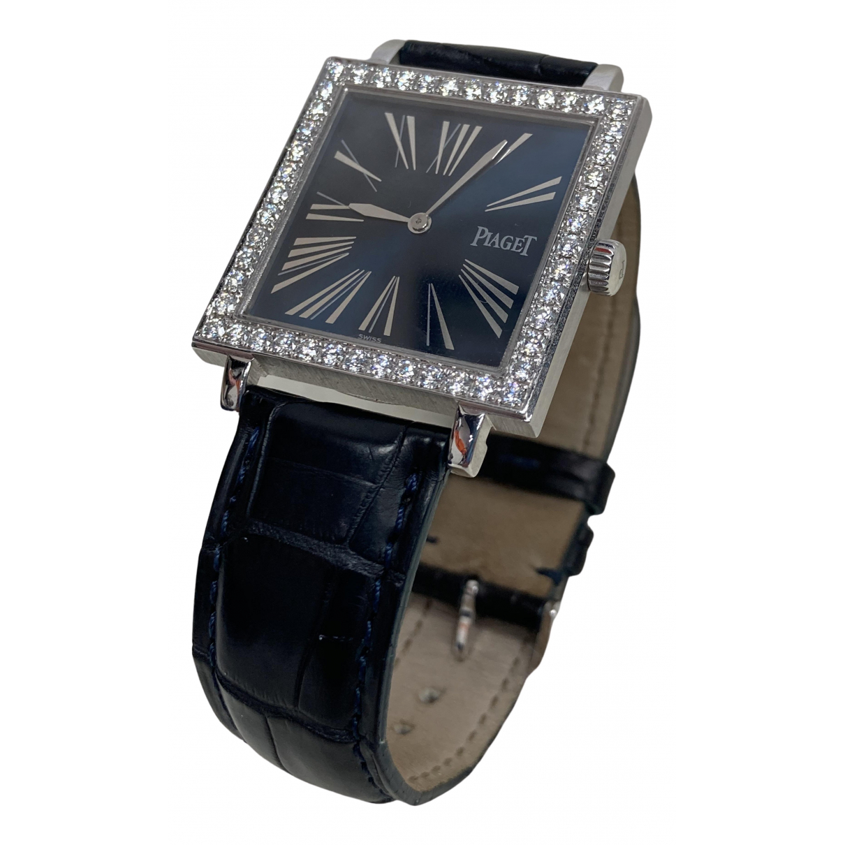 Piaget \N Blue White gold watch for Women \N