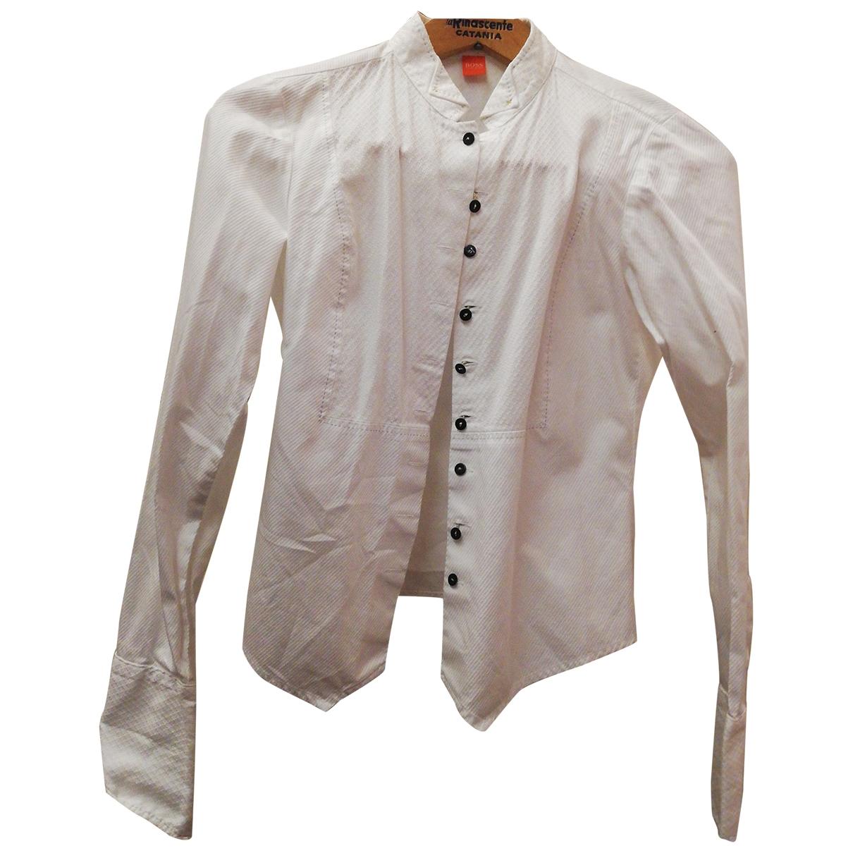 Hugo Boss \N White Cotton  top for Women 36 FR