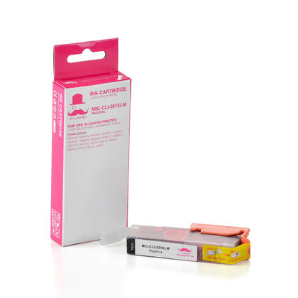 Compatible Canon PIXMA iP7220 Magenta Ink Cartridge by Moustache, High Yield
