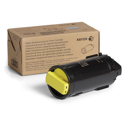 Xerox 106R03898 Original Yellow Toner Cartridge for VersaLink C600 C605 Printer
