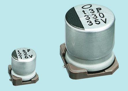 Nichicon 1000μF Electrolytic Capacitor 6.3V dc, Surface Mount - UWT0J102MNL1GS (10)