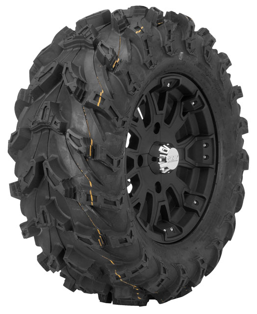 QuadBoss QBT672 Radial Mud Tires 27x11-14 Radial Rear 8 Ply Directional