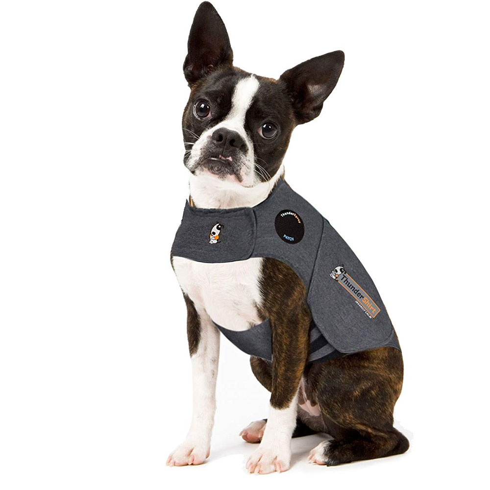 ThunderShirt Dog Anxiety Solution - Heather Gray (XSMALL)