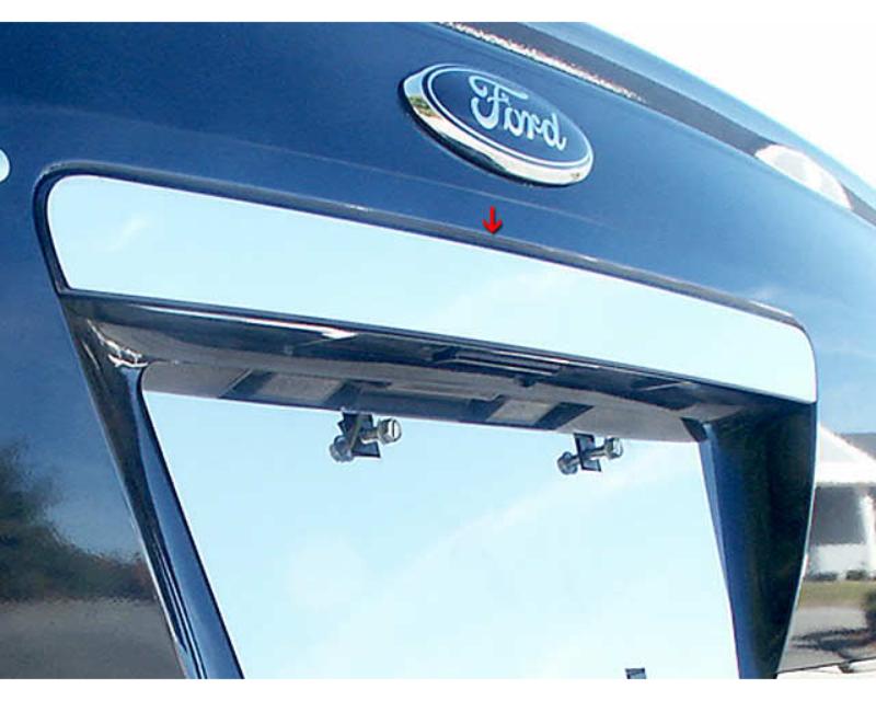 QAA Stainless Steel Rear License Trim 1Pc 2008-2009 Mercury Sable