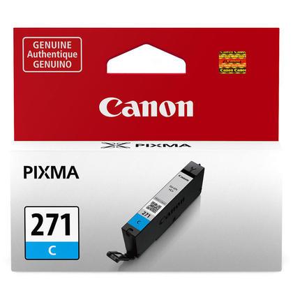 Canon CLI-271C 0391C001 Original Cyan Ink Cartridge