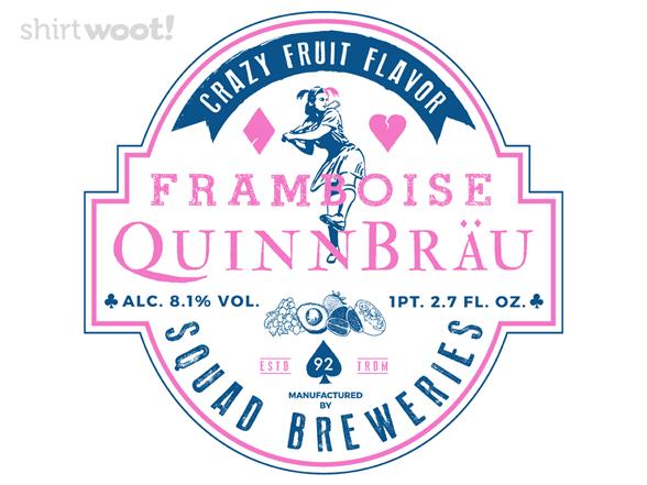 Quinnbrau - Squad Breweries T Shirt