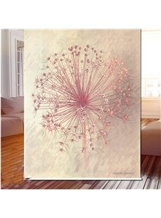 3D Flying Dandelions Printed Beautiful Natural Style Polyester Blackout Curtain Roller Shade