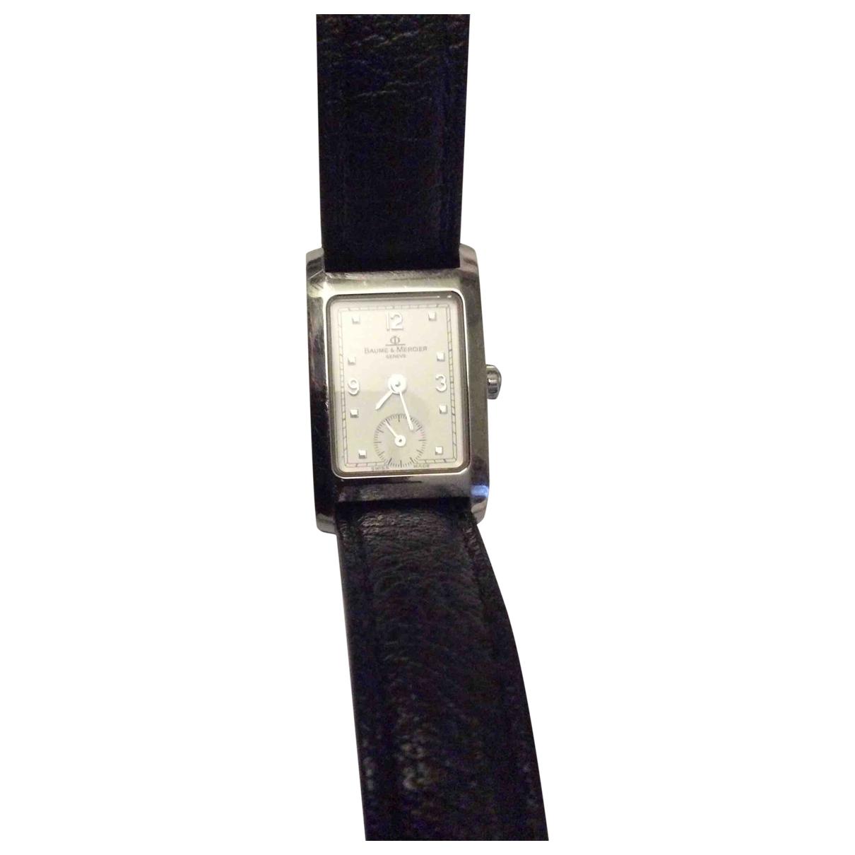 Baume Et Mercier Hampton Lady Silver Steel watch for Women \N