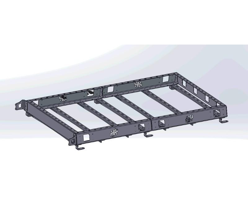 Hammerhead Armor 600-56-0639 77 Inch Roof Rack Long Black Steel