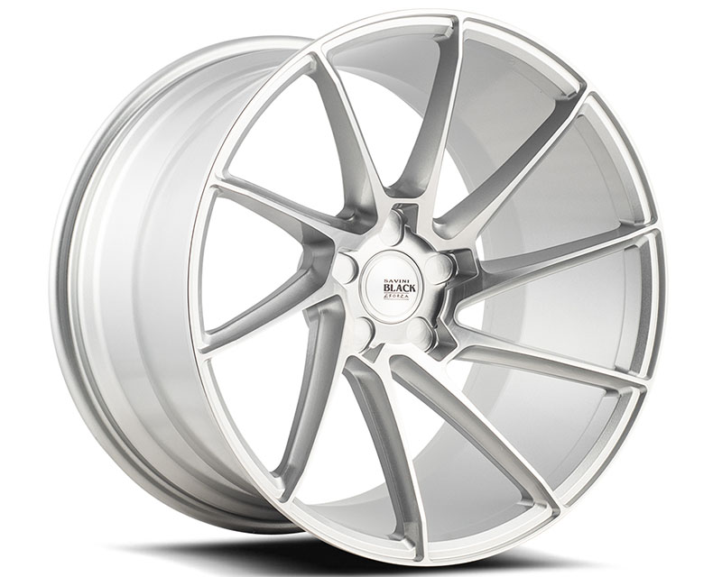 Savini BM15-19085520R2279L di Forza Brushed Silver BM15 Left Wheel 19x8.5 5x120 22mm