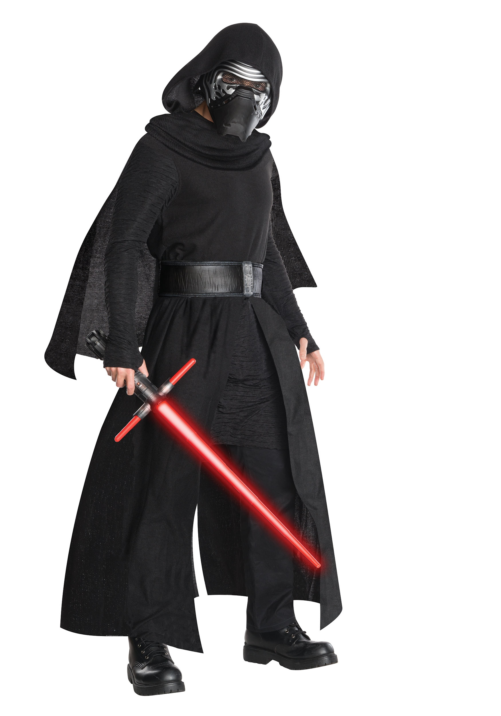 Super Deluxe Kylo Ren Adult Costume from Star Wars the Force Awakens