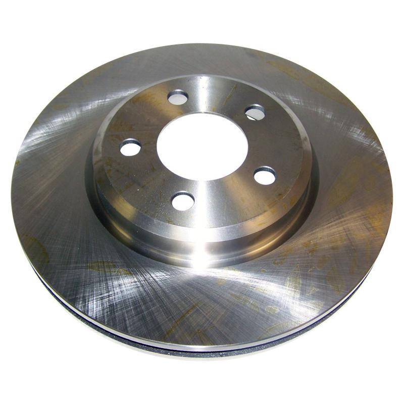 Crown Automotive 4779196AE Jeep Replacement Left or Right Front Disc Brake Rotor for Misc. 2005-2010 Dodge & Chrysler Models Front
