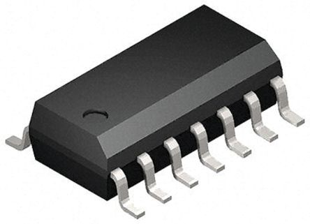 Toshiba 74HC126D, Quad, Quad Bus Buffer, 195 ns @ 150 pF 7.8mA, 14-Pin SOIC (2500)