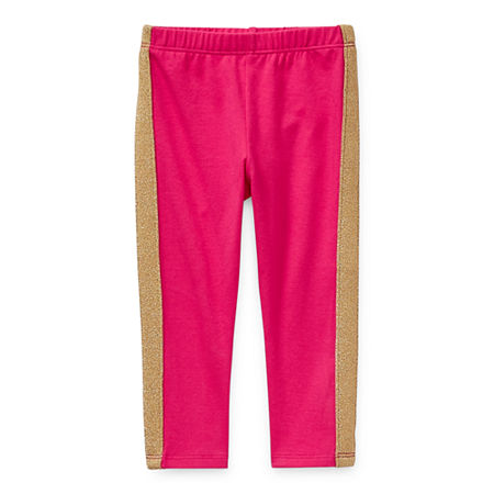 Okie Dokie Baby Girls Legging, Newborn , Pink