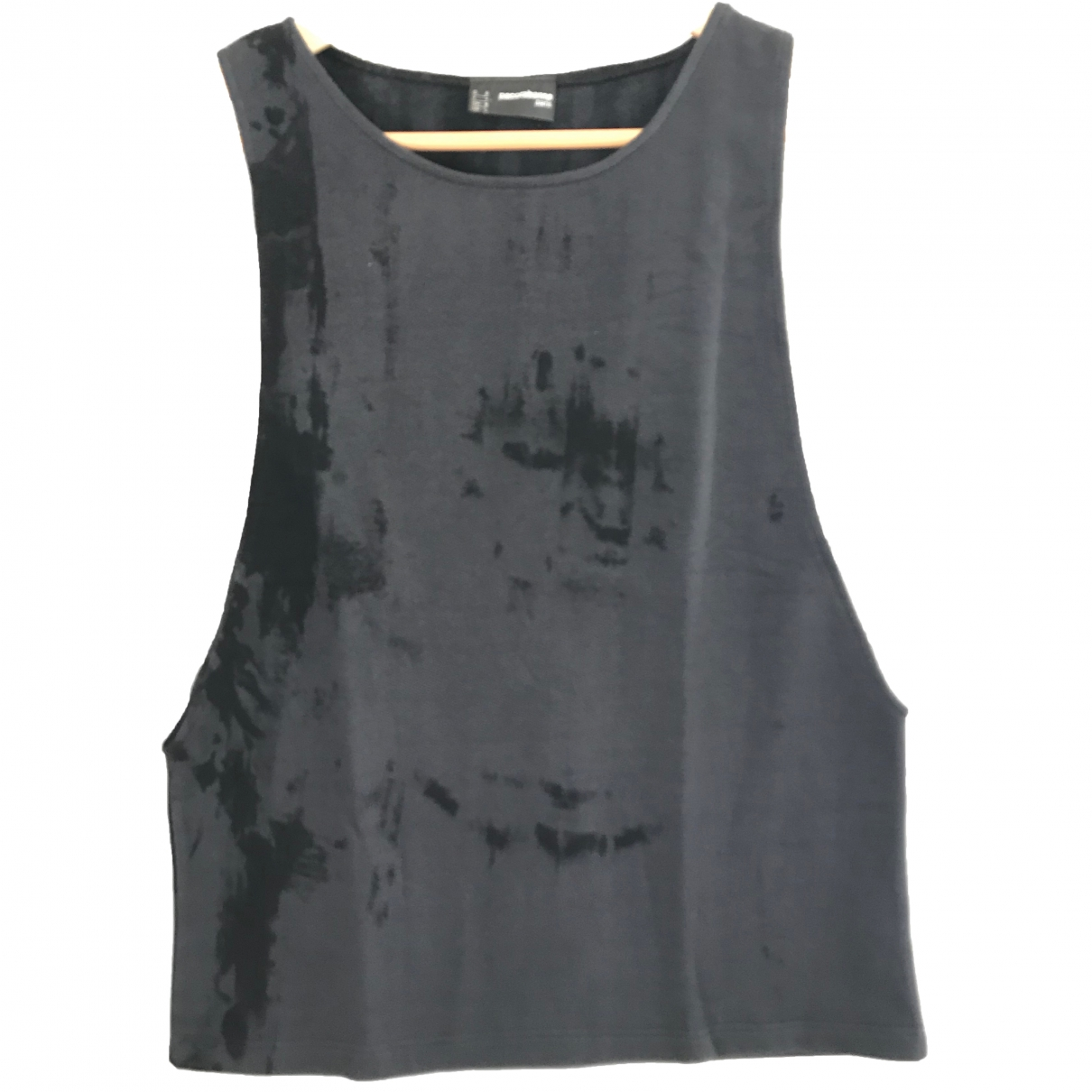 Paco Rabanne \N Anthracite Cotton  top for Women L