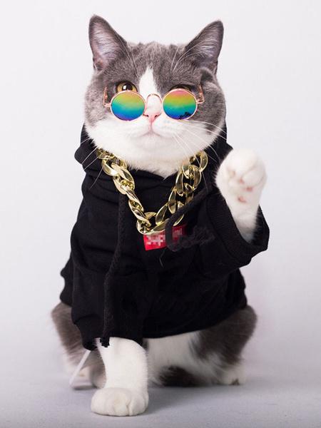 Milanoo Cat Black Top Halloween Costume