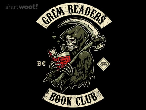 Grim Readers Book Club T Shirt